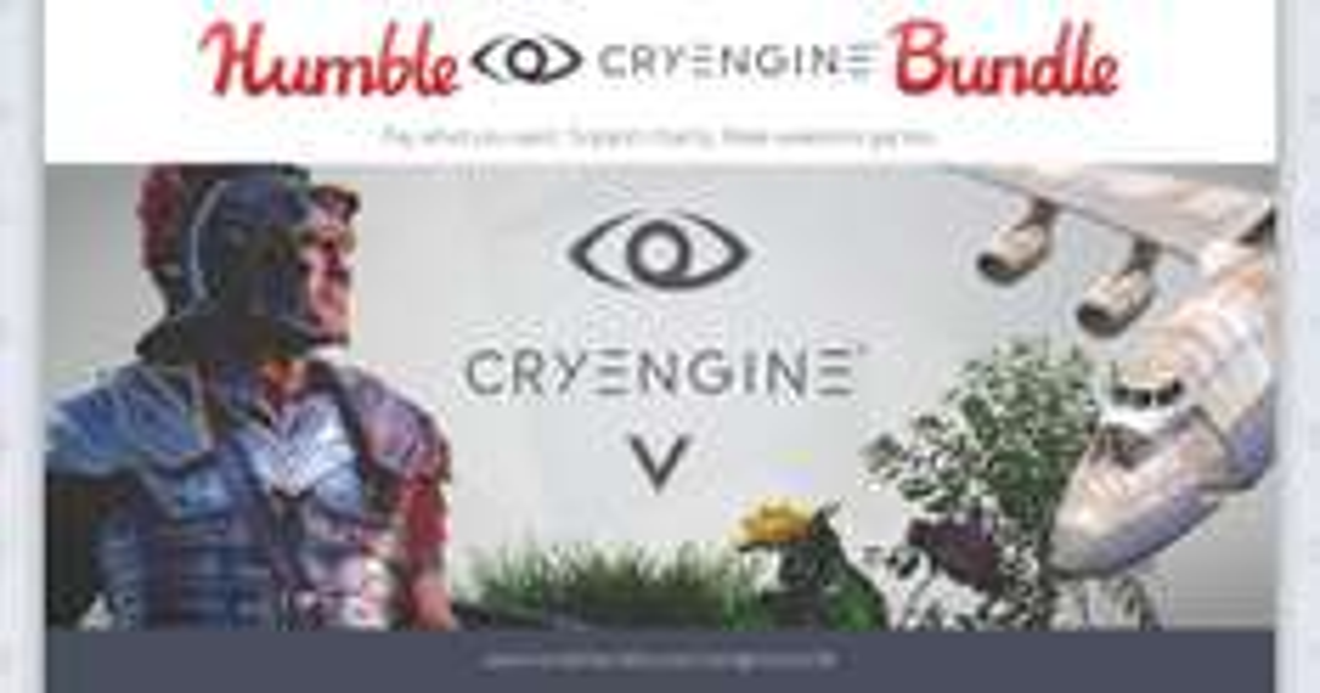 Silnik do tworzenia gier CRYENGINE @ Humble Bundle