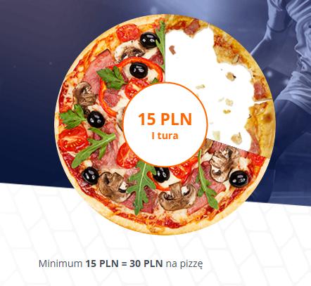 Wpłać 15zł depozytu na zakłady bukmacherskie, a otrzymasz kupon o wartości 30zł do wykorzystania na Pizza Portal @ Betsson