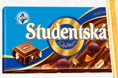 Czekolada Studentská (180g) za 6,49zł @ Biedronka