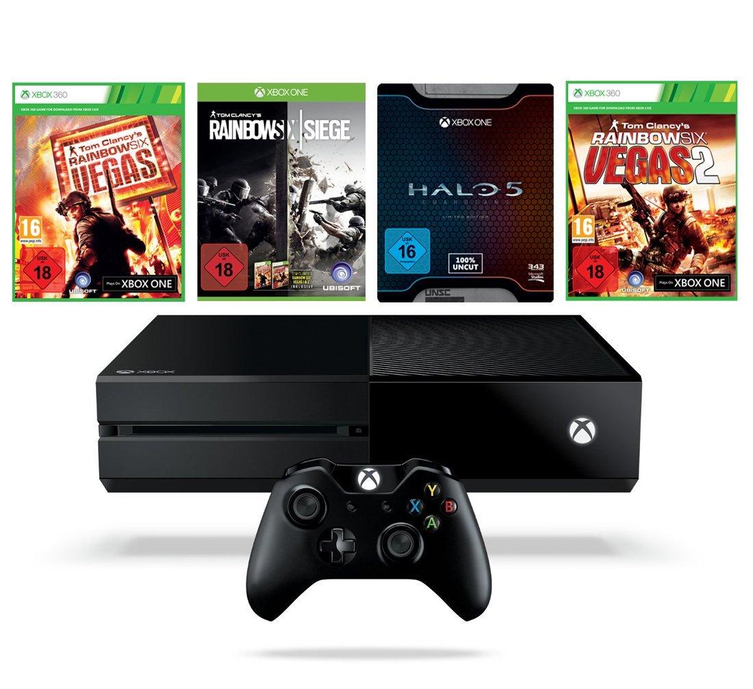 Xbox One 1TB + 4 gry za 319 Euro - Amazon.de