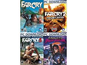TYLKO DZISIAJ! Far Cry Complete Pack (1 + 2 + 3 + Blood Dragon) za ok. 49 zł @ NEWEGG