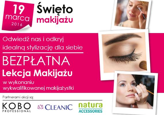 Bezpłatna lekcja makijażu (19.03) @ Natura