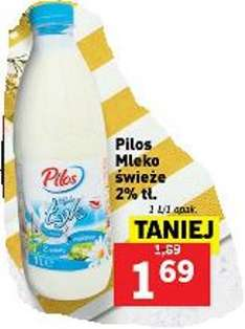 Pilos - Mleko świeże 2% tł. @ Lidl
