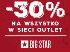 -30% na outlet @ BigStar