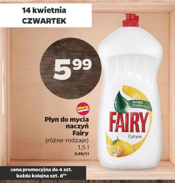 Fairy - świetny płyn do mycia naczyń @ Netto [aktualizacja]
