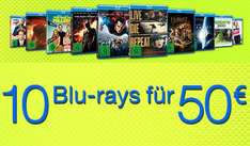 10 filmów Blu-Ray za €50 (~215zł) @ Amazon.de