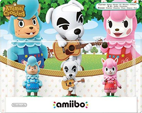 3 figurki Nintendo Amiibo za 67zł z dostawą (seria Animal Crossing) @ Amazon.it