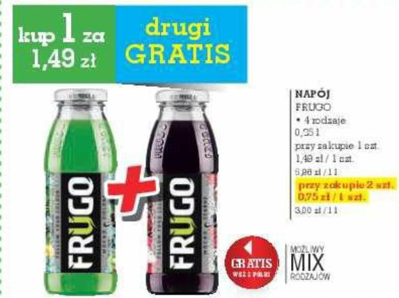 2xFRUGO @ Intermarche