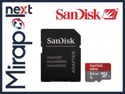 KARTA microSD 64GB SANDISK CLASS10 80 MB/s na Allegro