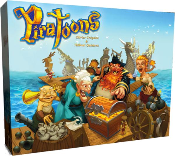 Gra planszowa Piratoons za 57,41zł (możliwe 51,41zł z płatnością PayPal) @ CDP