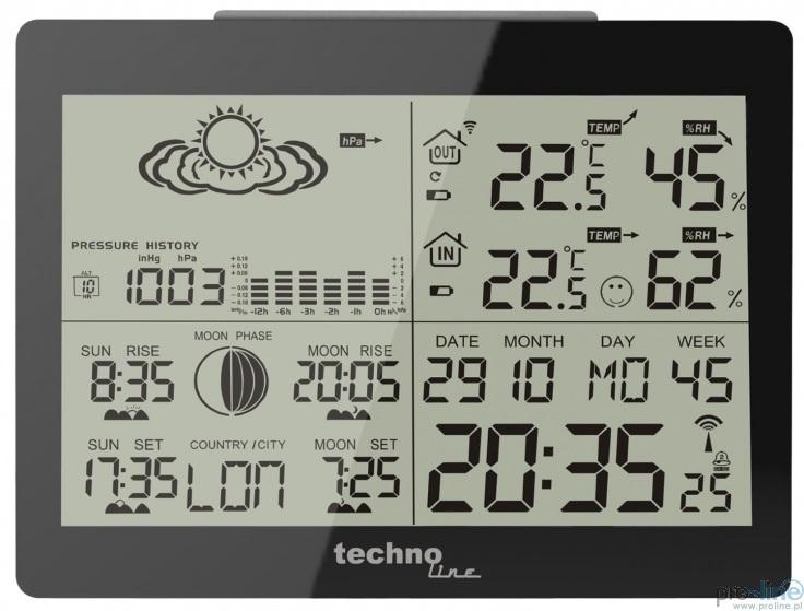Technoline WS-6760 stacja pogody