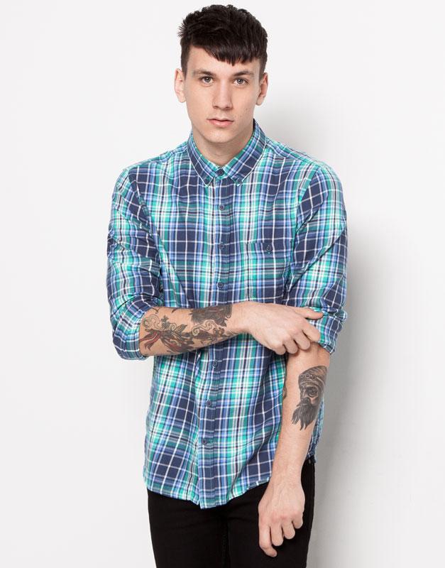 Męska koszula za 49,90zł i inne okazje - wyprzedaż do -50% @ Pull&Bear