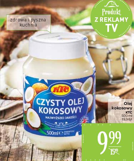 Olej kokosowy 500ml za 9,99zł @ Carrefour