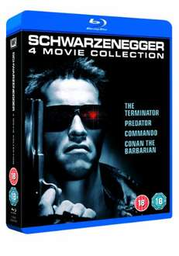 Arnold Schwarzenegger Collection (Blu-ray) za ok. 65zł @ Amazon.uk