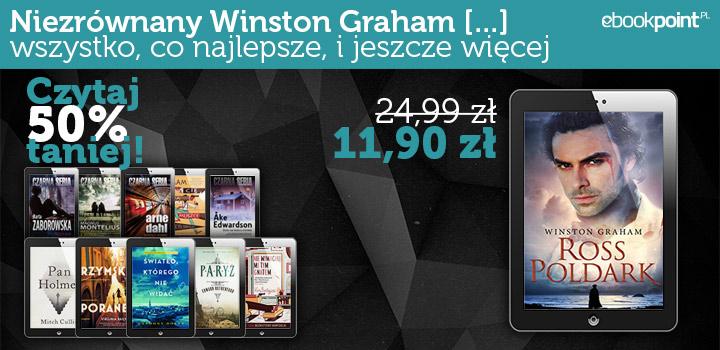 Winston Graham - saga Poldark i inne książki 50% taniej @ ebookpoint.pl