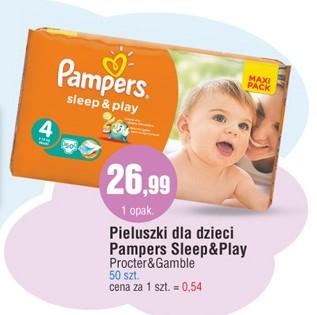 Pieluszki Pampers Sleep&Play za 26,99zł @ E.Leclerc