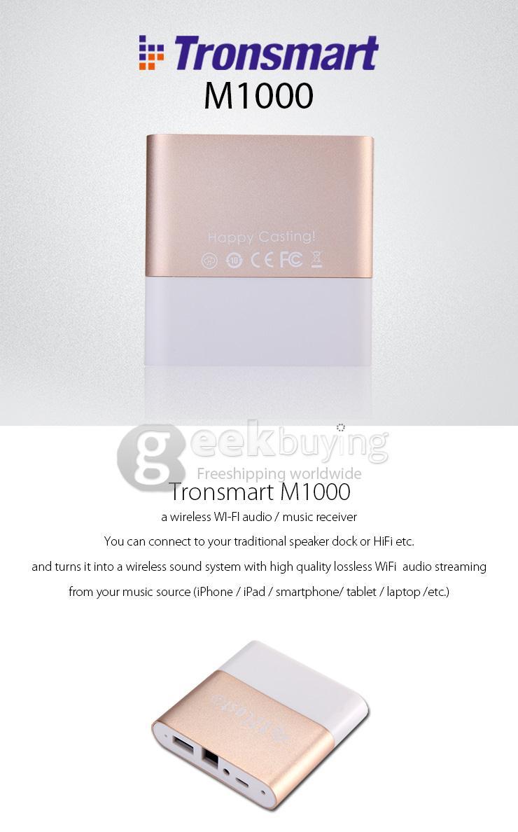 Tronsmart M1000 EZCast Music Box Receiver @Geekbuying