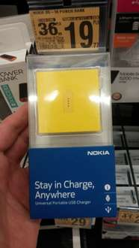 Nokia DC-18 powerbank @Auchan