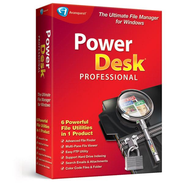 Avanquest PowerDesk 8 Professional  za darmo @ sharewareonsale.com