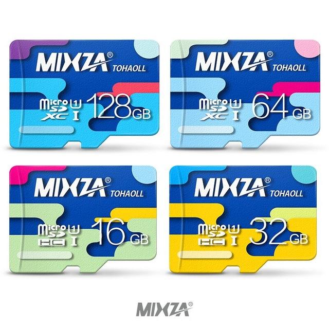 Karta microSD MIXZA Class10 UHS-I 64GB 70MB/s 25MB/s @Aliexpress