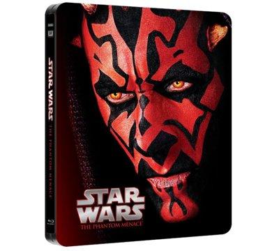 Blu-Ray Gwiezdne wojny: Część I - Mroczne widmo (Steelbook) Przecena z 69,99zł.