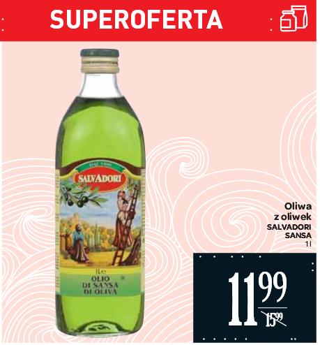 Oliwa z oliwek Salvadori Sansa 1l za 11,99zł @ Carrefour