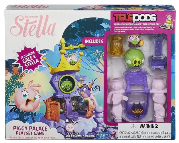 """Angry Birds Stella Pałac królowej oraz wiele inncyh zabawek Hasbro w mocno obniżonych cenach + opcja na """"darmową"""" wysyłkę @ Satysfakcja.pl"""