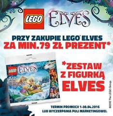 GRATIS zestaw LEGO Elves 30375 Sira's Adventurous Airglider