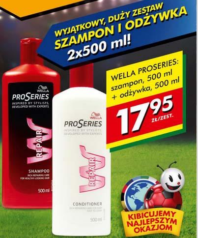 Wella ProSeries (szampon + odżywka 500 ml) za 17,95 zł @ Biedronka