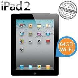 """TYLKO DZISIAJ! Apple iPad 2 64 GB, Wi-Fi, ekran 9,7"""" (recertyfikowany) za 1 169,95 zł @ iBOOD"""