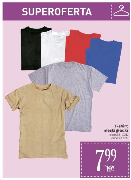 Męski t-shirt za 7,99zł @ Carrefour
