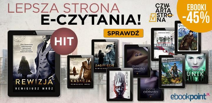 Remigiusz Mróz i inne książki wyd. Czwarta Strona 45% taniej @ ebookpoint.pl