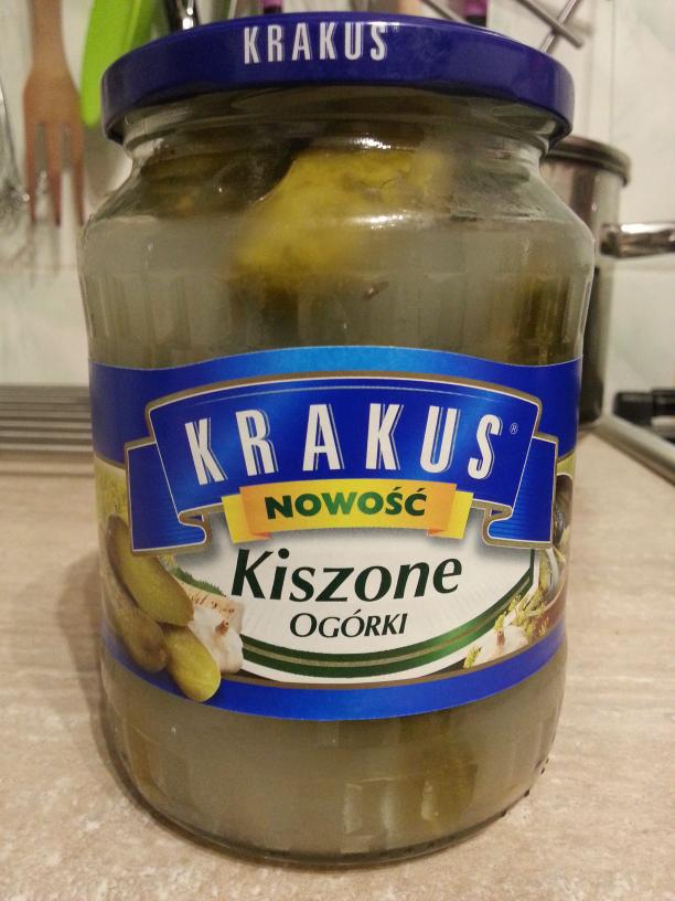 Ogórki Kiszone Krakus Tesco Extra zamiast 6.49zł