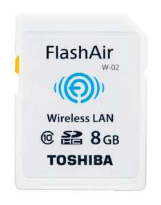 Karta Pamięci Toshiba SD Flash Air 8GB (Class 10, z Wi-Fi) @ Sferis