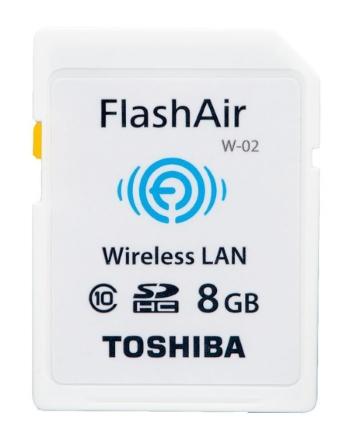 Karta Pamięci Toshiba SD Flash Air 8GB (Class 10, z Wi-Fi) @ Sferis