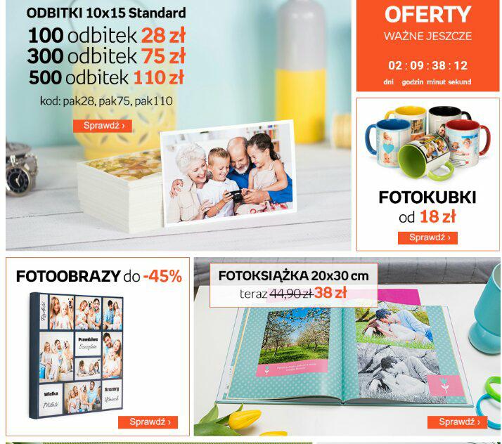 Fotoprodukty do -65%! Sprawdź jak możesz wykorzystać swoje zdjęcia @ Empik Foto