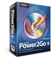 CyberLink Power2Go 9 Platinum za darmo @ Sharewareonsale
