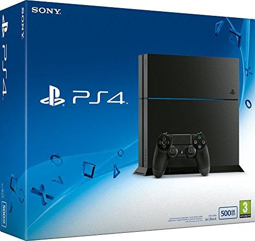 PlayStation 4 (500GB, czarna) [CUH-1216A]