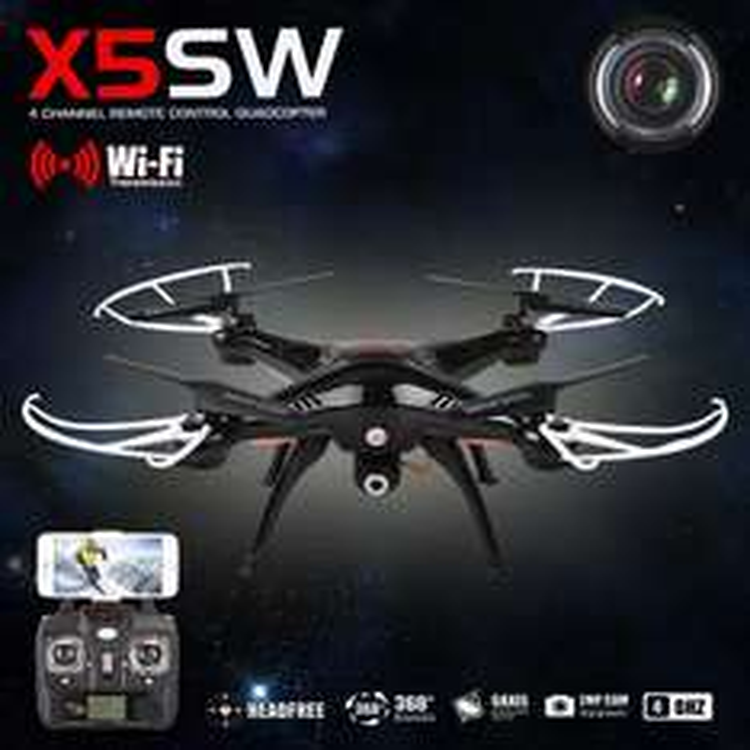 Dron X5SW + pilot  wish.com