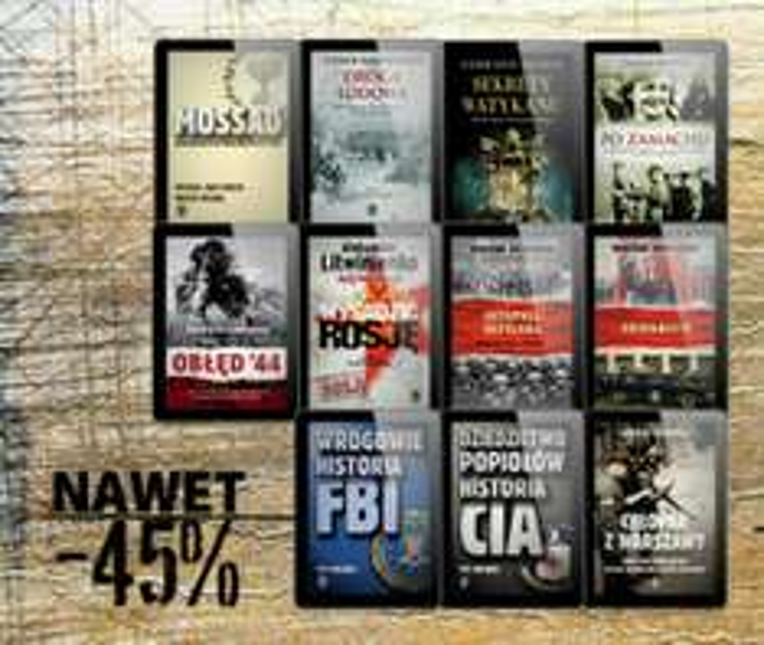 Bliżej historii. Ebooki 45/55% taniej @ ebookpoint.pl