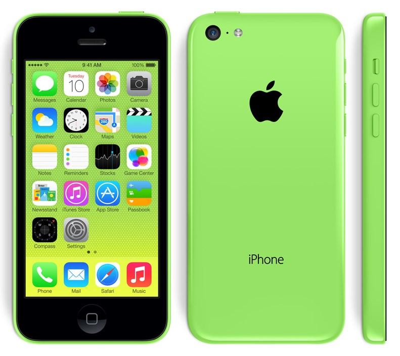 iPhone 5c (Zielony) za 1799zł @ MediaMarkt