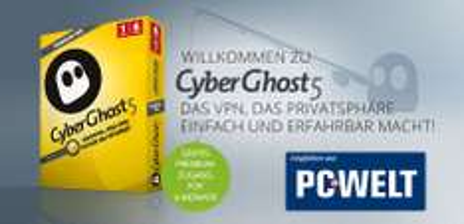 CyberGhost 5 za DARMO (6 miesięcy) @ Cyberghost