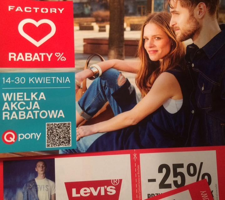 kupony rabatowe outlet - Wrocław Factory 14-30 IV