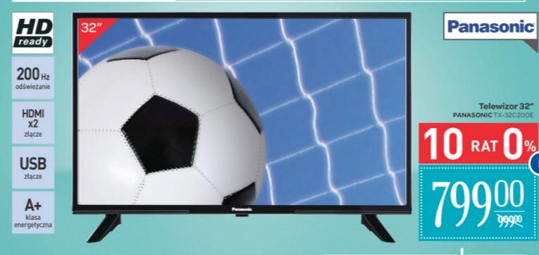 "Telewizor Panasonic 32"" LED HD Ready za 799zł @ Carrefour"