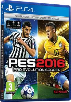 Pro Evolution Soccer 2016: Day One Edition (PS4, PS3, XONE) @ cdp.pl