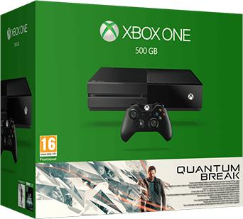 Microsoft Xbox One 500GB + Quantum Break + Alan Wake + XBL 3 miesiące za 1399 zł @ morele.net