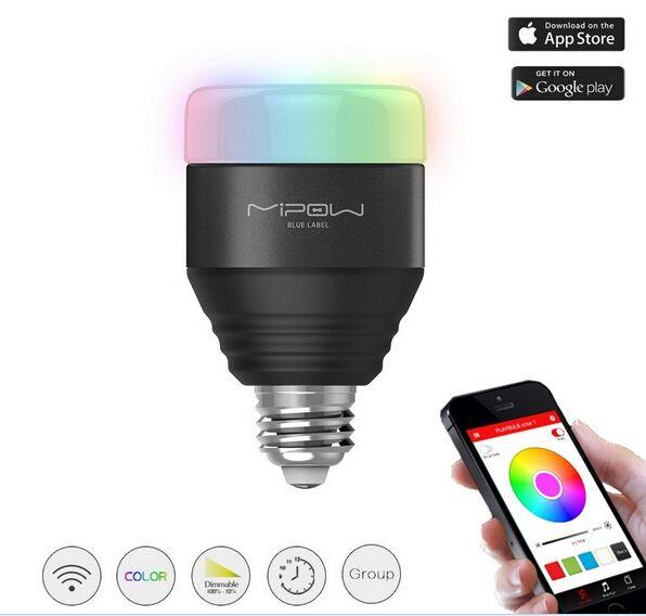 Żarówka led MIPOW e27 5W RGB (Bluetooth 4.0) @ Banggood