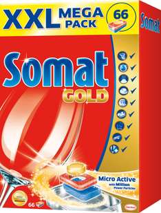 Somat Tabletki do zmywarki Gold XXL Mega Pack 66 szt @ Tesco