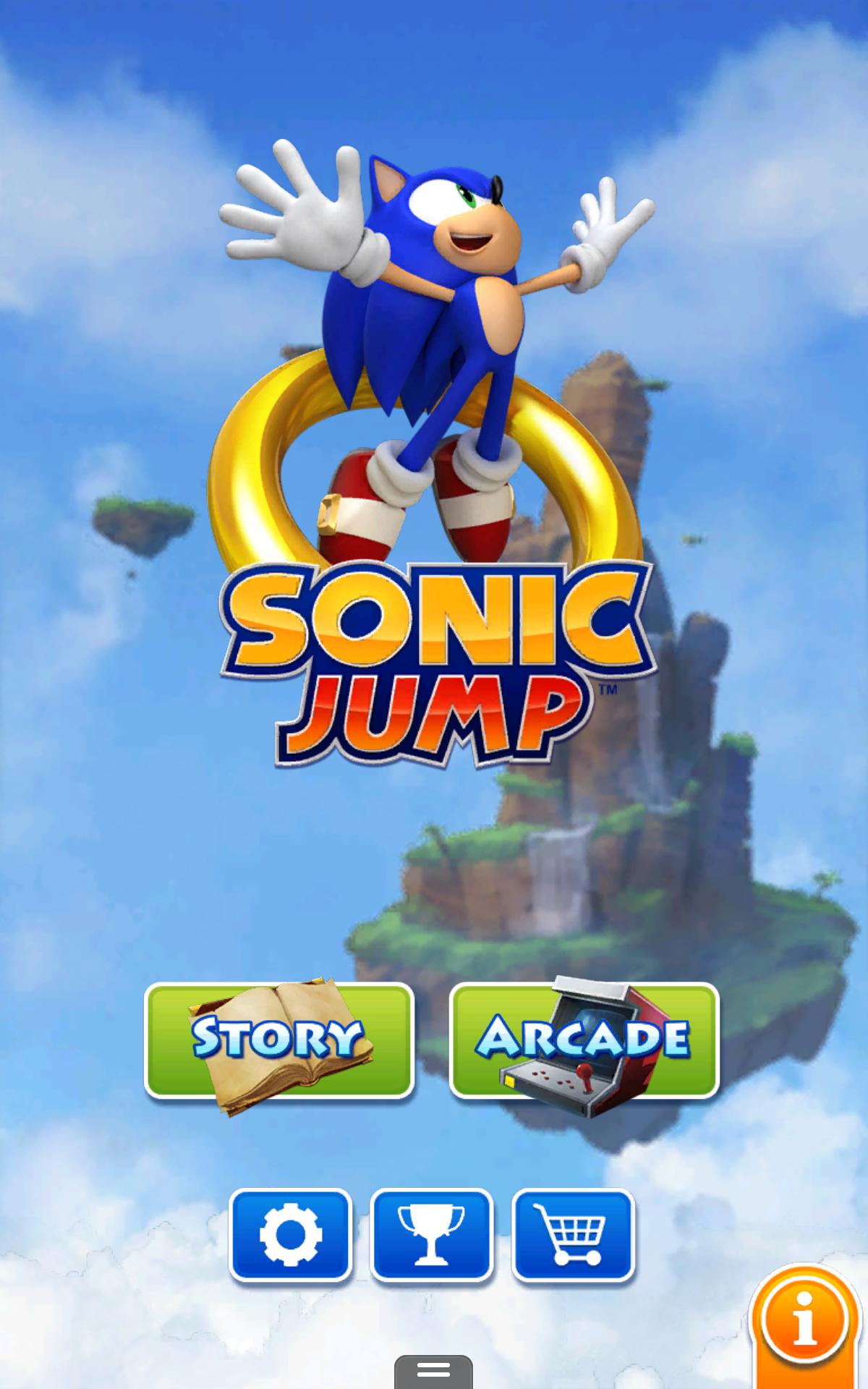 Gra Sonic Jump na Androida ZA DARMO @ Amazon.com