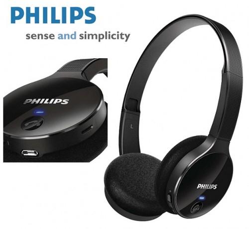 Ceneo od 130 zł Słuchawki stereo Philips SHB4000 Bluetooth